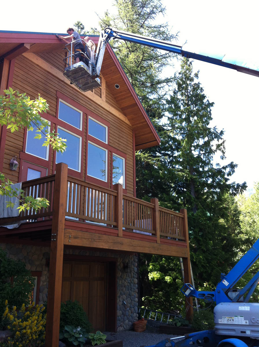 awesome pic of exterior painting cedar home etc